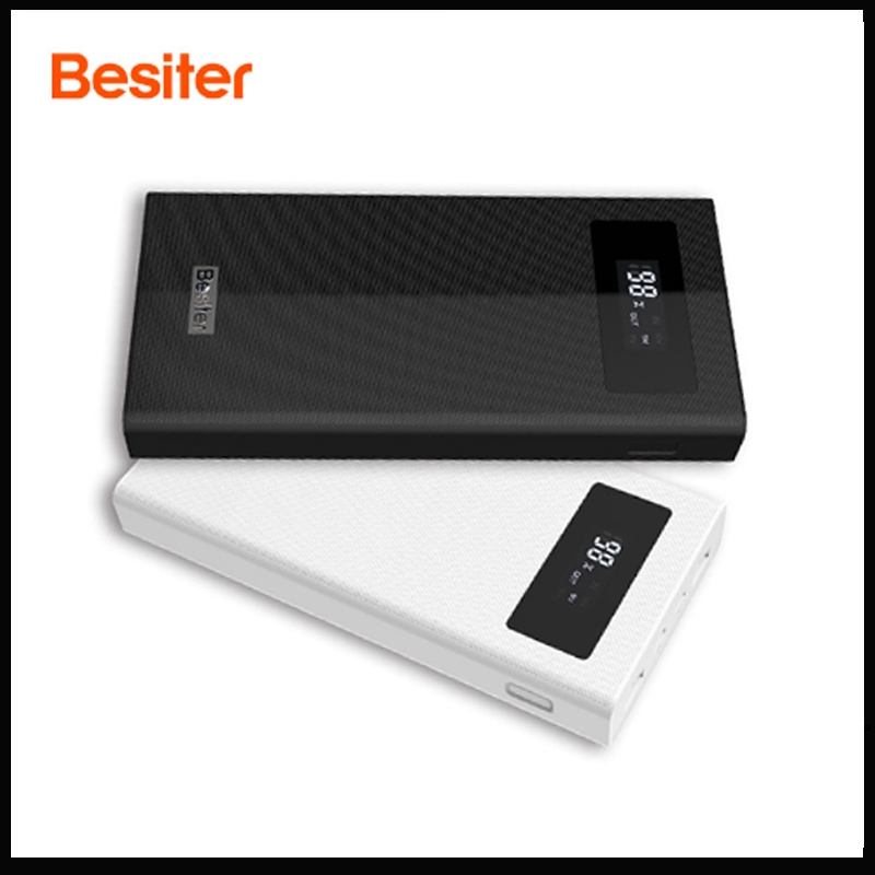 Puissance Banque Besiter 20000 mah 3.0 Charge Rapide PowerBank chargeur pour téléphone/Portable Chargeur Externe Batterie