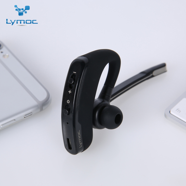 Bluetooth V4.1 Phone Handsfree MIC Music for iPhone Xiaomi Samsung Lymoc V8S Business Bluetooth Headset Wireless Earphone Car