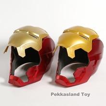Железный человек мотоциклетный шлем косплей маска для ребенка взрослый сенсорный зондирования маска со светодиодный подсветкой супер герой серии кукла 1:1 Ironman