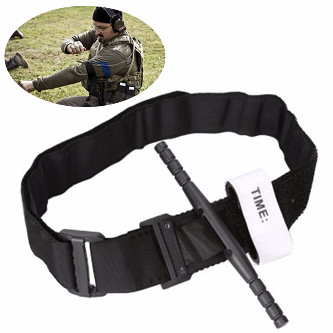 2016 Sale Real Black China Tourniquet First Aid Kit Medical Bag Safety Belt Half-length Outdoor Outdoor Tools