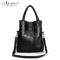 Genuine Leather Women Shoulder Bag Luxury Handbags Women Bags Designer Ladies Casual Tote High Quality Sheepskin