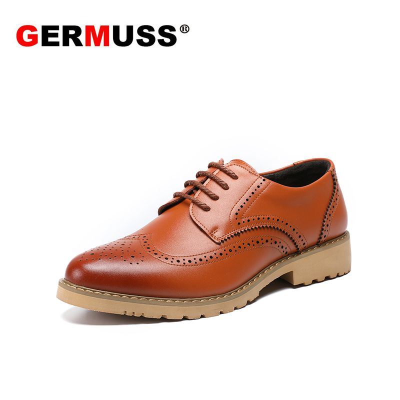 Italian Fashion men shoes genuine leather Luxury Mens Goodyear Welted official shoes Spring Popular Officer leather Dress Shoes 2016 luxury mens goodyear welted oxfords shoes vintage boss brogue shoes italian mens dress shoes elegant mens gents shoes derby