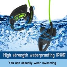 Bluetooth fone de ouvido à prova d' água verdadeiro IPX67 esportes natação tampão de ouvido sem fio fone de ouvido estéreo com cancelamento de ruído fones de ouvido que funcionam
