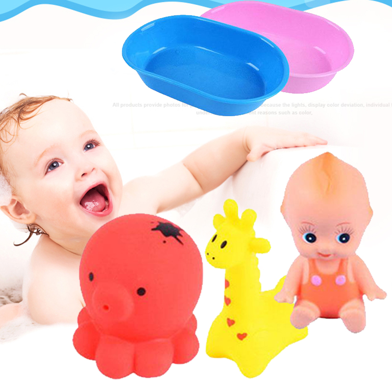 Children Shower Toys Bathtub Funny Baby Bath Toy Floating Bathroom Giraffe Octopus Kids Girls Water Spray Animal