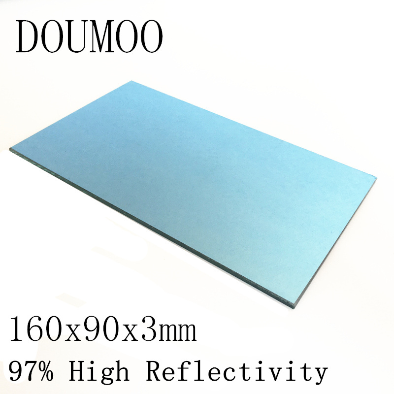 1 PC /ot 160x90x3 mm Projector Reflector Mirror DIY Projector Accessories 97% High Reflectivity Lens For Projector Screen