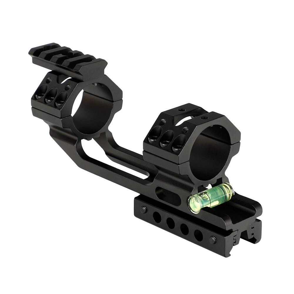 20mm picatinny weaver riflescope anéis caça 25.4mm