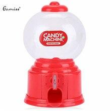 Мини-симпатичные gumball банка candy автомат торговый сохранение симпатичный монет диспенсер игрушка