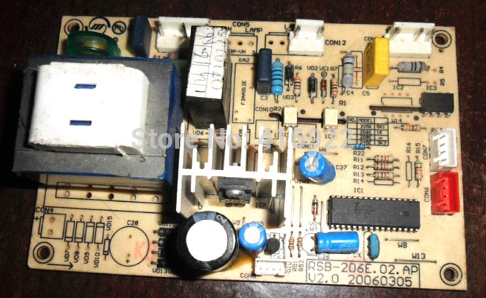 все цены на 95% new Original good working refrigerator pc board motherboard for Royalstar Bcd-188er on sale онлайн
