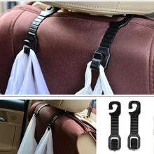 1 Pair Plastic Car Back Seat Hooks Holder