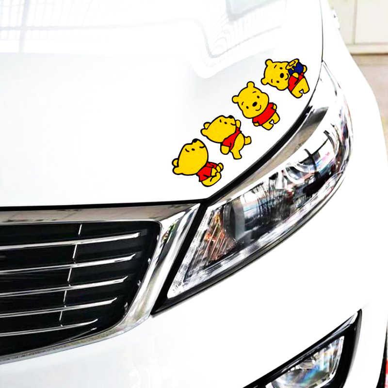 Etie voiture style dessin animé autocollant autocollant pour moto planche à roulettes Chevrolet Peugeot Hyundai Lada garde-robe Focus