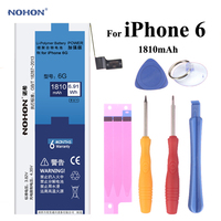 NOHON Replacement Battery For Apple IPhone 6 High Real Capacity 3 82V 1810mAh Li Polymer Built
