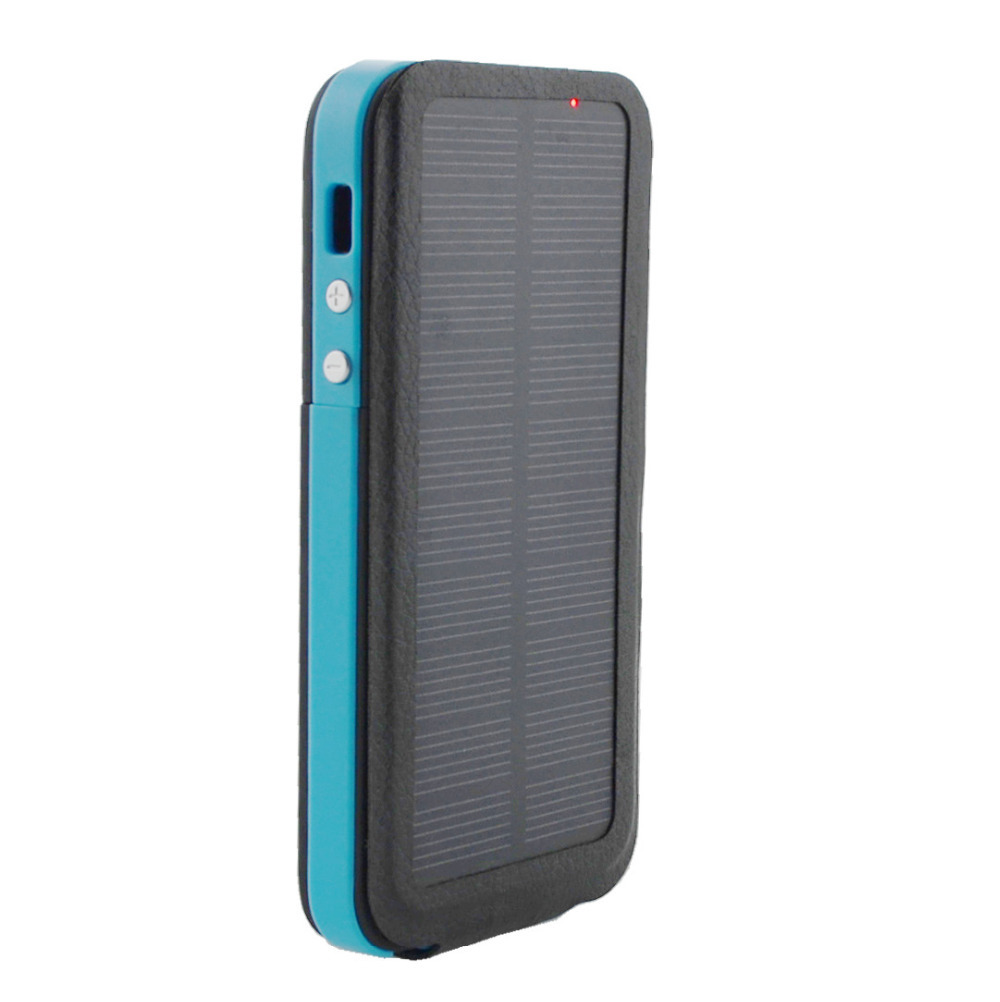new arrival 59840 ee5f1 US $28.88 |Portable externa solar charger case for iPhone 5 5S Solar  battery case External Battery charger case Power Pack Phone Cover-in  Battery ...