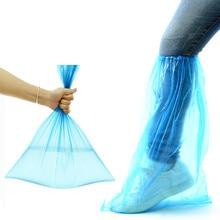 10Pairs/lot Outdoor Rainy Waterproof Shoes Covers Rainy Motorcycle Riding Disposable Rain Shoe Covers Women Men Kids Rain Boots