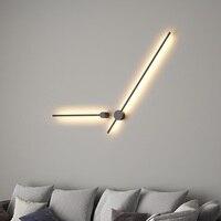 Korea Design Slim Tube Wall Lamp / 120cm and 65cm Length Options