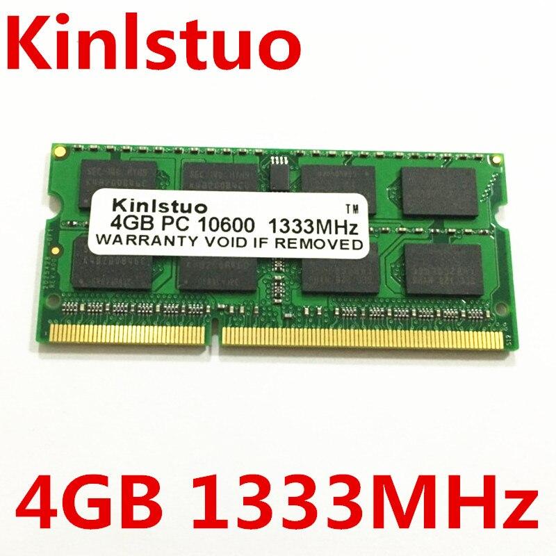 New original Ordinateur Portable mémoire Ram pour Micron MT DDR3 4G 1333 4 GB 2Rx8 PC3-10600S-9-11-FP Livraison gratuite