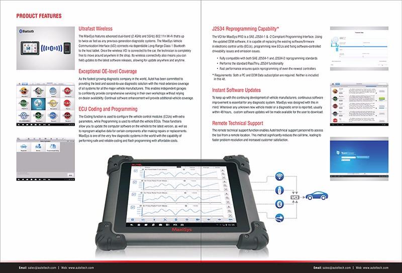 Autel MaxiSys Pro MS908P J2534 - Race Technik