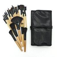 24 Pcs Sof Synthetic Hair Makeup Brushes Set High Quality Professional Makeup Brushes Synthetic Powder