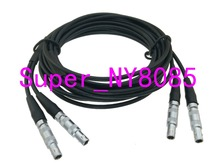 Twin Crystal Cable 2C5 2C5 FFA.00S C5 Connector for ultrasonic Equality Flaw Detector 3FT~10M