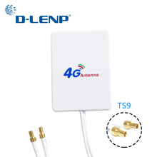 Dlenp 4 г LTE Rotuter антенны 3g 4 г внешние антенны для huawei 3g 4 г LTE модем-маршрутизатор Антенна TS9 разъем с 3 м кабель