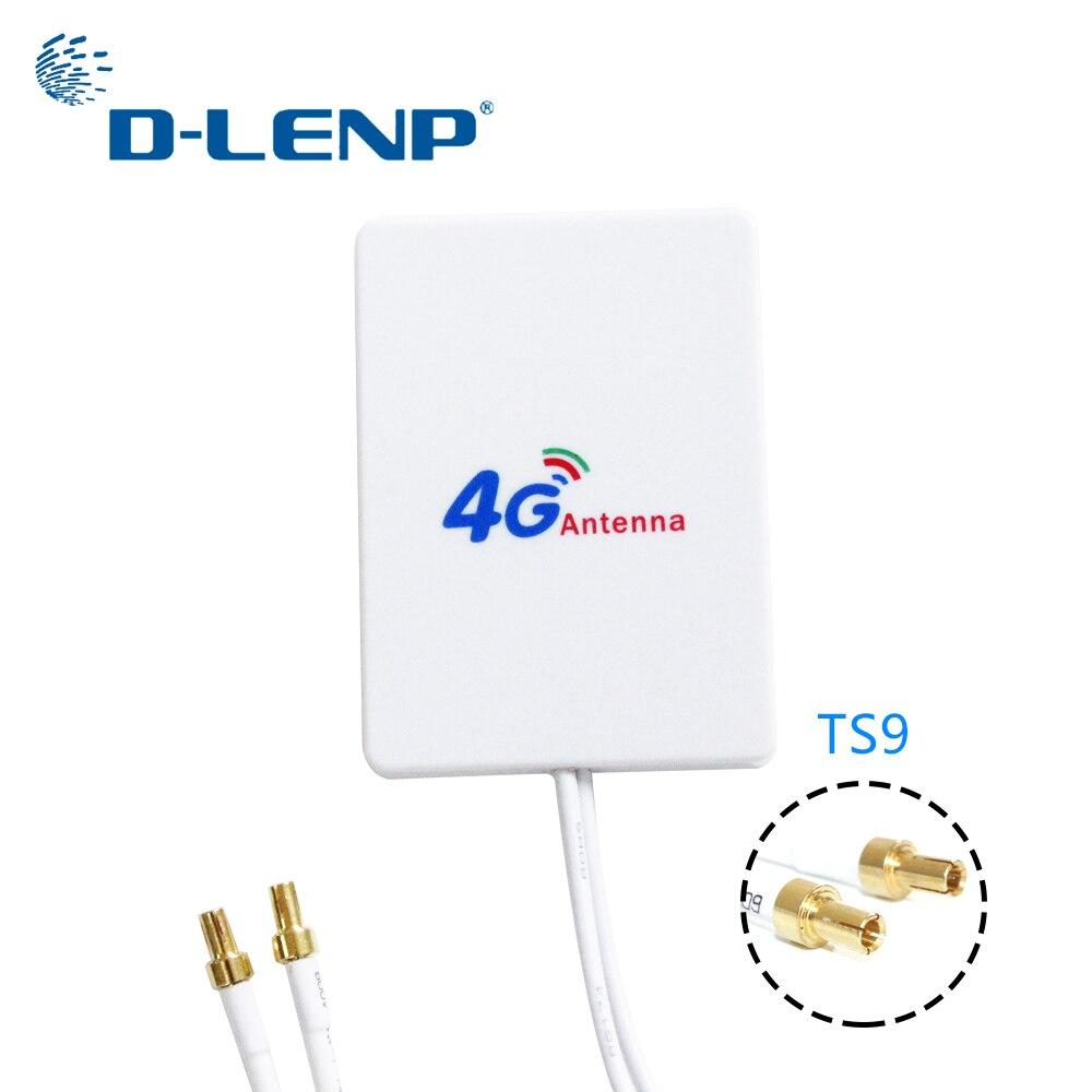 Dlenp 4g LTE Rotuter Antenne 3g 4g Externe Antennes pour Huawei 3g 4g LTE Routeur modem Aérienne TS9 Connecteur avec 3 m câble