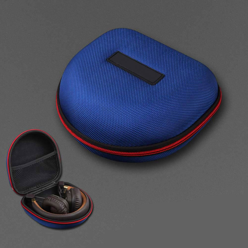 Neu Tragbare Kopfhörer Fall Stoßfest EVA Headset Lagerung Tasche Kopfhörer Zipper Box für Marshall