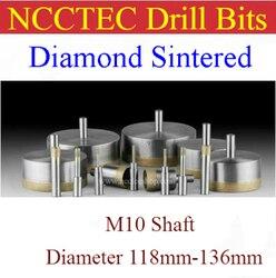 118mm 119 120 121 122 123 124 125 126 127 128 129mm 130mm 131mm 132mm 133mm 134mm 135mm 136mm Gesinterte diamant bohrer bits