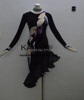 New Style!KAKA L140221,Women Latin Dance Wear,Fringe Salsa Dress Tango Samba Rumba Chacha Dress,Latin Dance Dress For sale