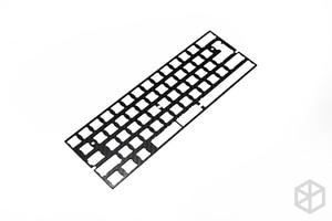 Image 3 - 60% الألومنيوم الميكانيكية لوحة المفاتيح لوحة من ألياف الكربون دعم xd60 xd64 3.0 v3.0 gh60 دعم انقسام المسافة 3u المسافة