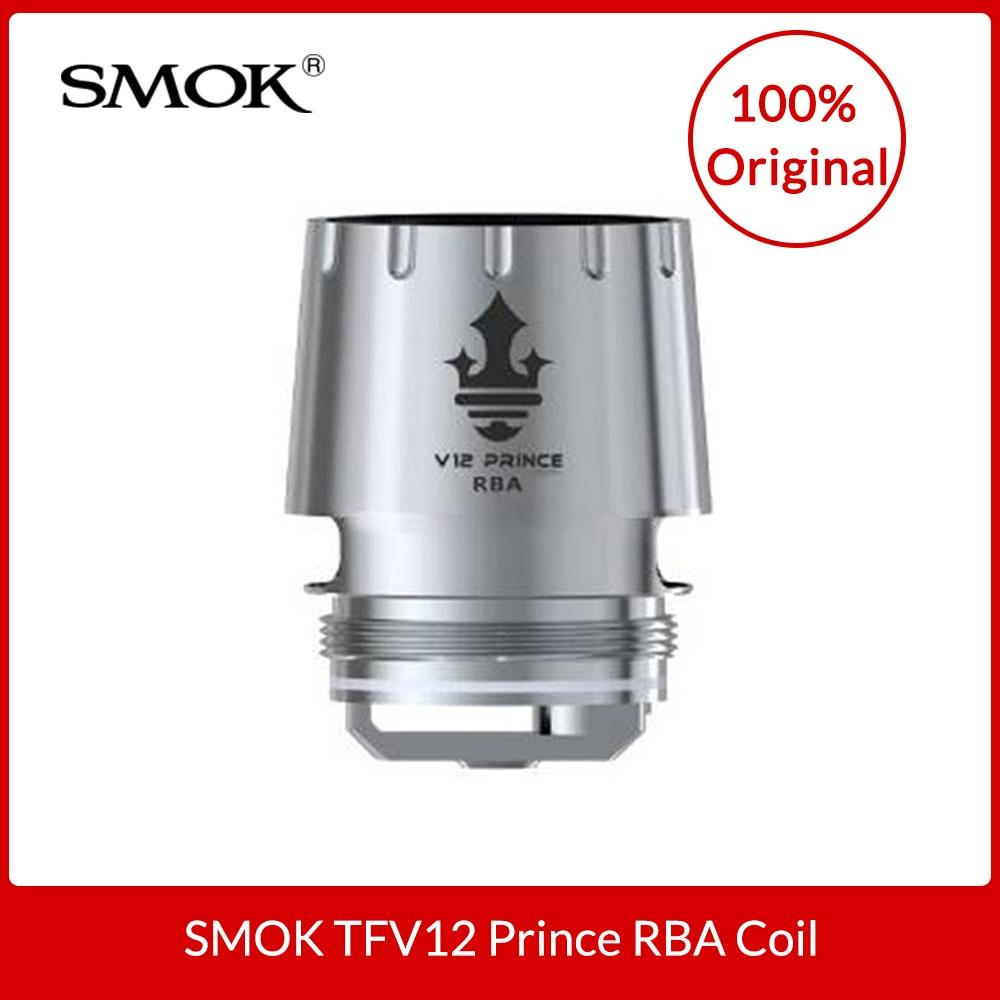 Original SMOK TFV12 PRINZ RBA Spule 0.25ohm widerstand entwickelt für SMOK TFV12 Prince Tank DIY RBA Elektronische Zigarette Kerne