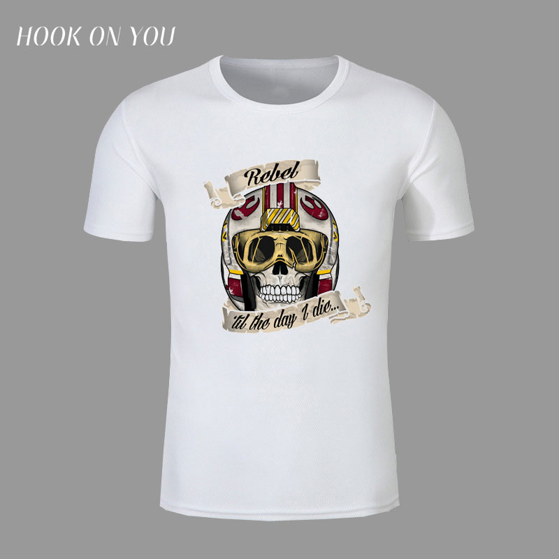 free shipping Star Wars Tattoos t-shirt for Men  colorful Printed men unique short sleeve top tee funny t shirt