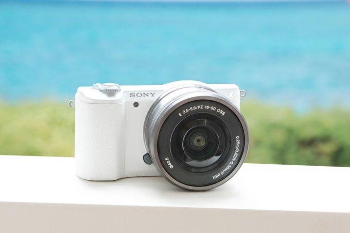 Sony Alpha a5100 cámara Digital sin espejo con lente de 16-50mm