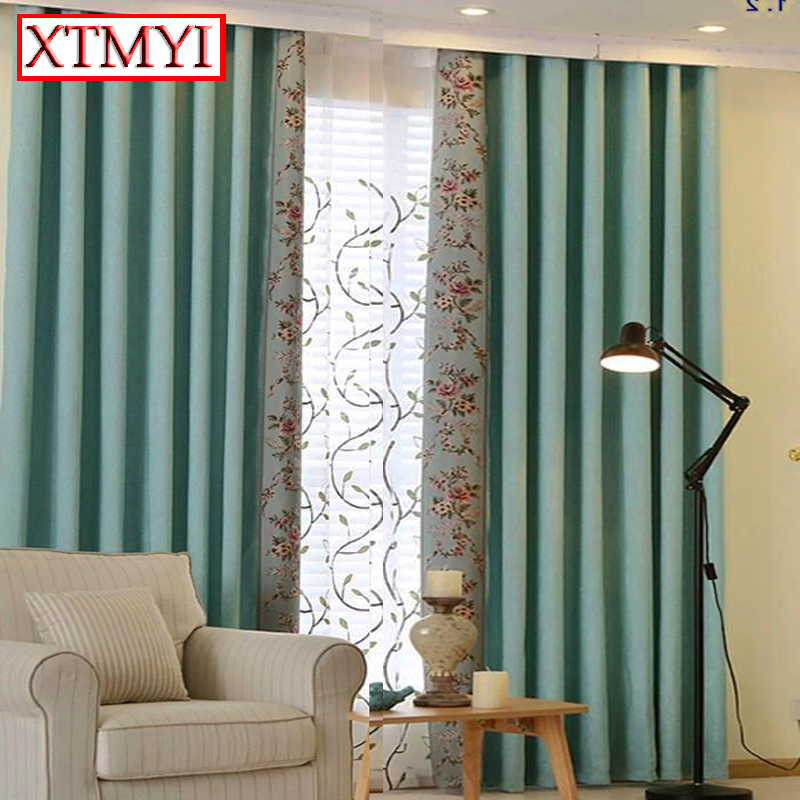 online get cheap blue bedroom curtains aliexpress  alibaba group, Bedroom decor