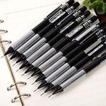 Писчая, для рисования Карандаш Один 2 H ZD126 0,9 мм автоматическая идентификация металлических арт черного цвета для офиса механические карандаши grand качество 6 шт./лот