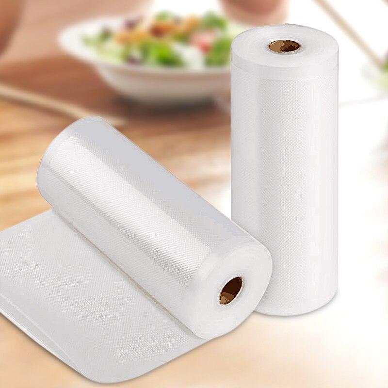 Home Kitchen Vacuum Sealer Food Saver Storage Bags Packaging Film Fresh Long Time Food Vacuum Sealer Packaging Machine