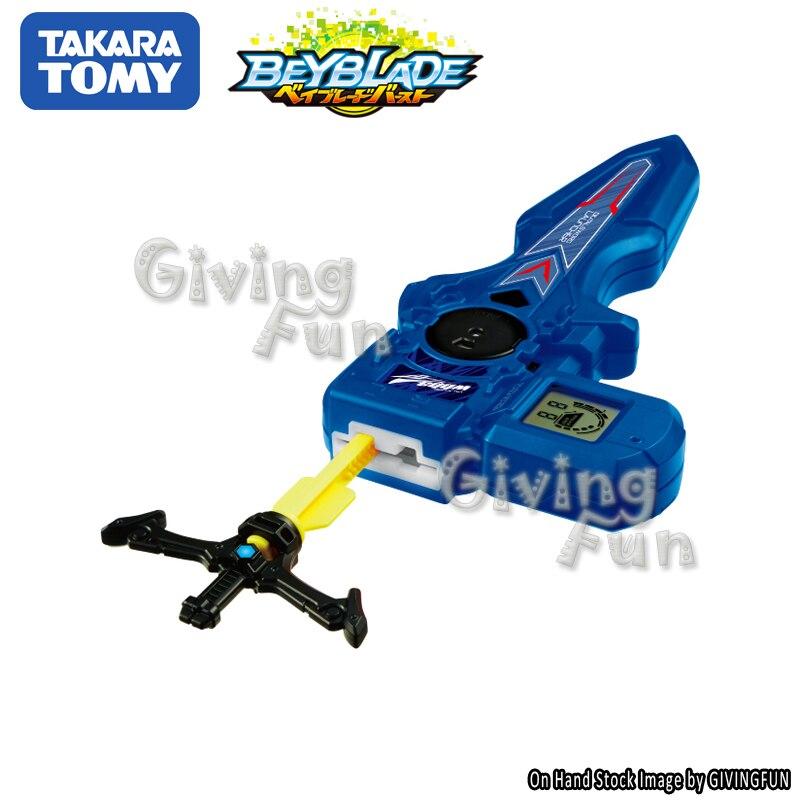 2018 TAKARA TOMY BEYBLADE combat détonant gyroscopique gyroscopique B-94 double vitesse lanceur