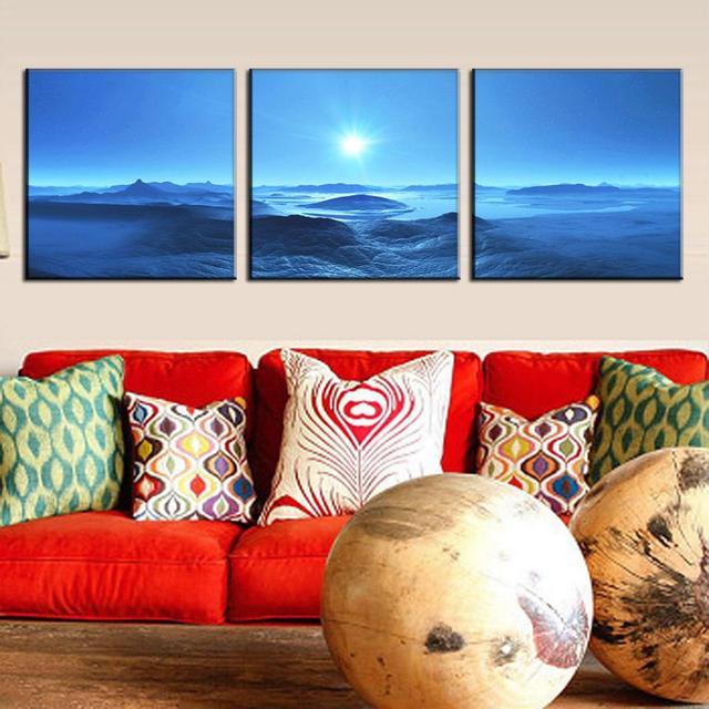 3 Teile Los Moderne Wandkunst Bilder Gedruckt Leinwand Gemalde