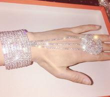Precious Glamour Rhinestone Stretchy Armlet
