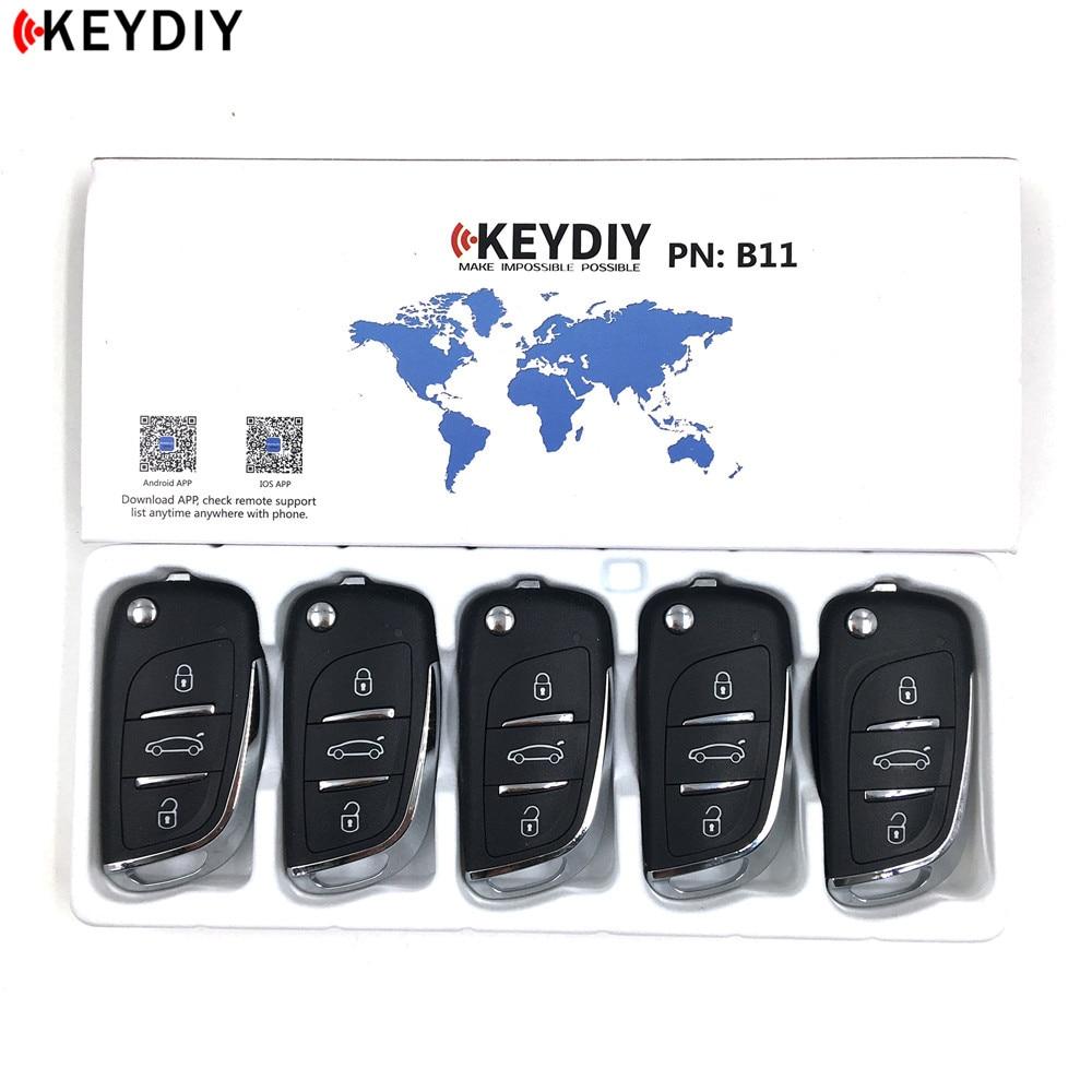 5pcs B11 KEYDIY Original KD900 KD X2 URG200 Key Programmer B Series Remote Control DS stytle
