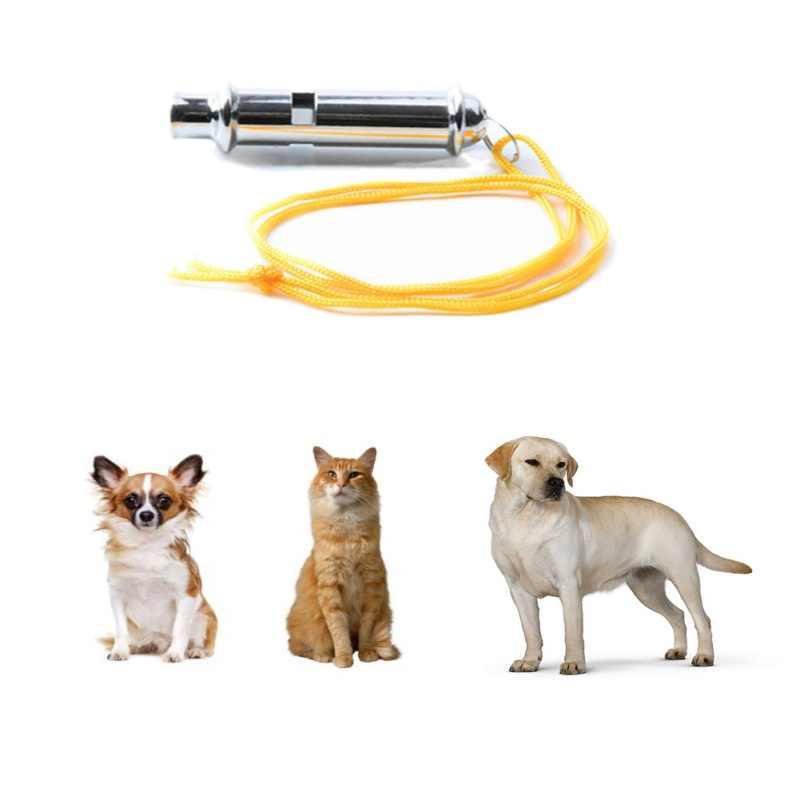 Ultrasonik Anjing Tinggi Vokal Logam Whistle Bel Anjing Peliharaan Ultrasonik Dapat Disesuaikan Whistle Tweeter Perlengkapan Latihan