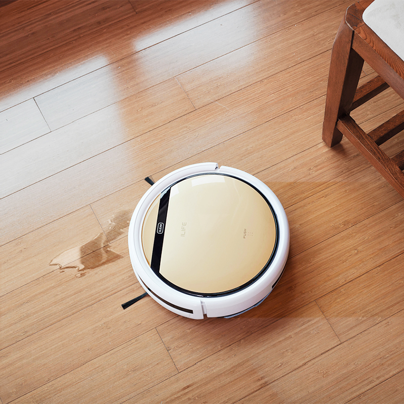 ILIFE V5s Pro robot Vacuum Cleaner Robot Sweep Wet Mop Automatic Recharge for Pet hair Powerful Suction Ultra Thin odkurzacz - 2