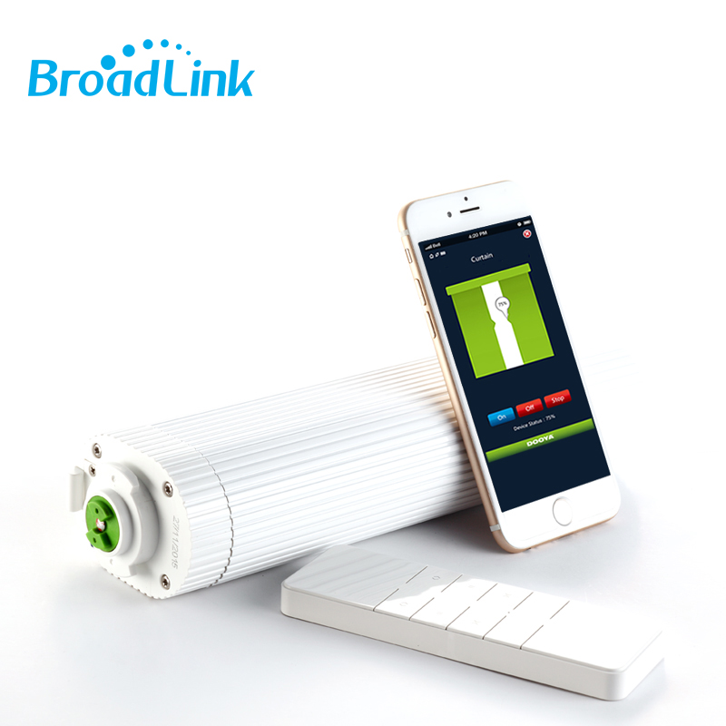 Broadlink DNA Dooya Motor Curtain Motor DT360E 45W IOS Android Remote Control Curtain For Smart Home Automation System