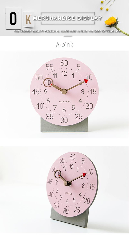 retro clock with time projection clock vintage reloj mesa vintage reloj antiguo automobile clock alarm clock bedroom clock clock flip watch table table clock (4)
