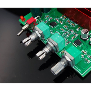Image 5 - TPA3116D2 Bluetooth 5.0 Amplifier Audio Board 50W*2 Tweeter Bass adjustment Car Home Theater Digital Amplifiers NE5532 With AUX