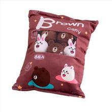 WYZHY Творческий закуски плюшевые игрушечные лошадки сумка 8 Диван украшения для спальни к отправьте друзьям и подарки для детей 50X38 см