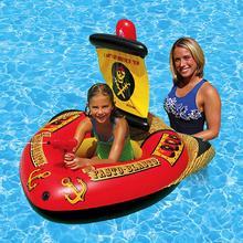 Детская площадка и надувной детский бассейн пиратский корабль детский водный надувной плавательный круг плавающая кровать игрушка для воды