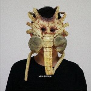 Aliens vs Predator - Requiem лицевая маска 1:1(LIFE SIZE), удерживающая Кепка, фигурка AVP, Коллекционная модель, Игрушка OPP D615