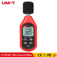 UNI-T UT353BT Sound Level Meter Digital Bluetooth Noise Meter Tester LCD 30-130dB Decibel Monitoring Sound Level Meters цена