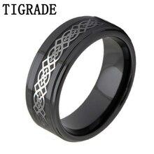 купить Free Shipping Silver Color Geometric Ceramic Ring Engagement Wedding Band Fashion Jewelry по цене 553.72 рублей