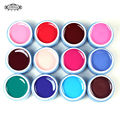 Perfect Summer Nail UV Gel Polish Nail Art Paint 165Colors UV Gel Long lasting Nail Gel DIY Nail Art 12pcs/lot