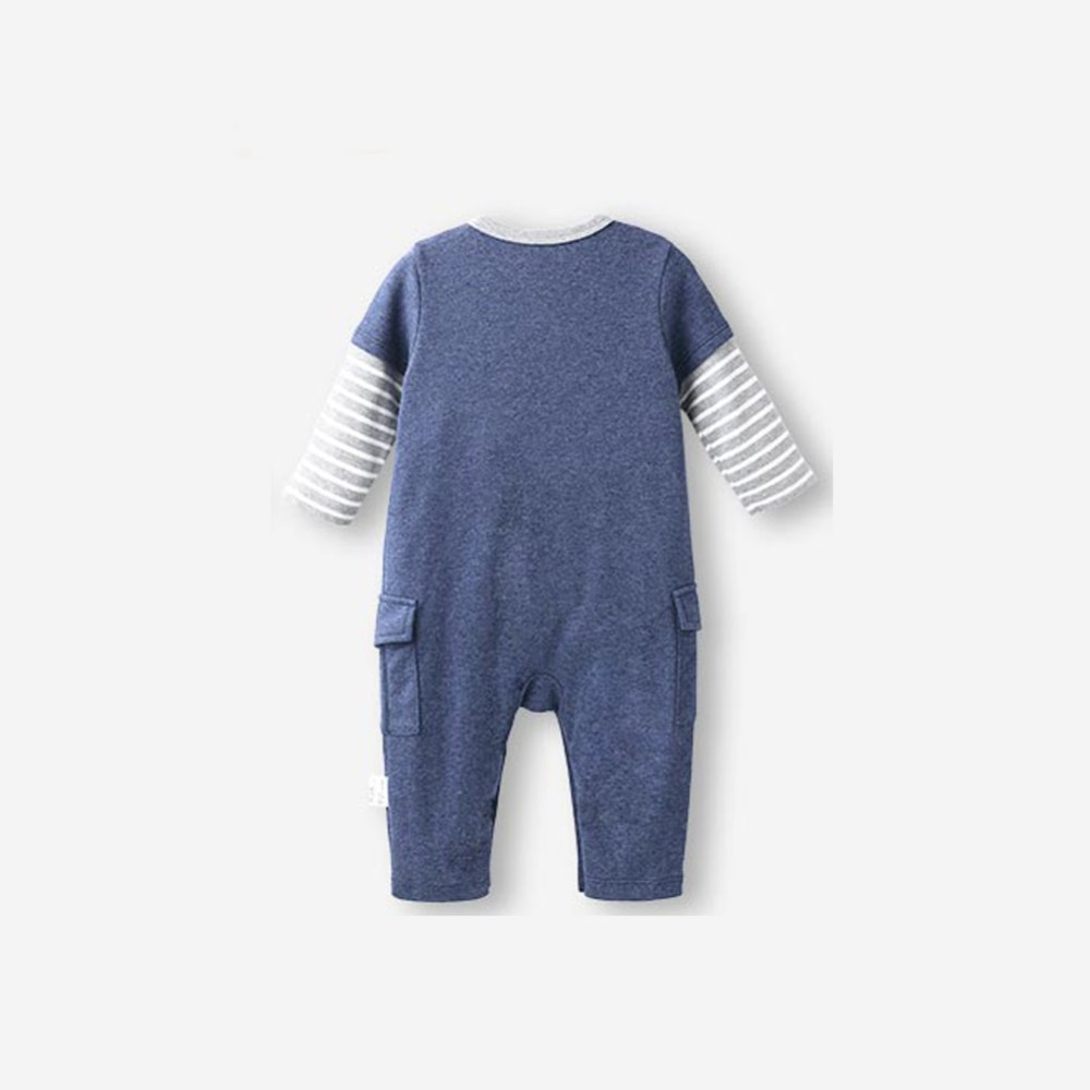 22255c5e4 Newborn Baby Boy Clothes Summer Rompers 0 24 Months Stripe Boys ...